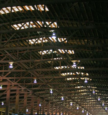 Old Factory Roof