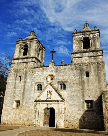 reverence: Old Spanish Mission -  Mission Concepcion  Texas, USA