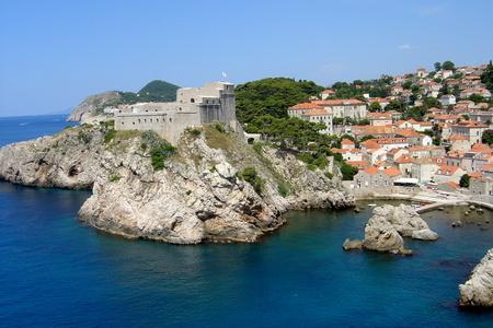 the citadel: cittadella su una roccia Archivio Fotografico