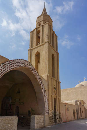 Wadi El-Natron, Egypt: The monastery of Deir Anba Bishoy (St. Bishoi) dates back to as early as the 9th century CE.