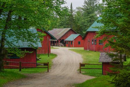 Sagamore Lake, NY: The Farm at Great Camp Sagamore, built in 1897.