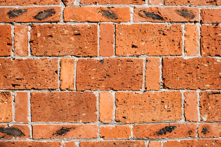 wall textures: Red brick wall textures background