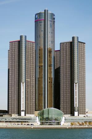 Detroits Renaissance Center Home Of GM, General Motors Headquarters Editorial