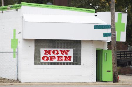Medical Marijuana Dispensary, Green Cross, Detroit, Michigan