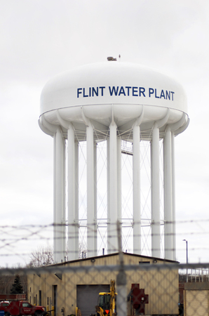 flint: Flint, Michigan Water Tower, Water Plant