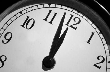 Doomsday Clock Set at Two Minutes Before Midnight
