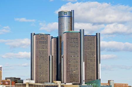 General Motors Headquarters in Detroits Renaissance Center, Downtown