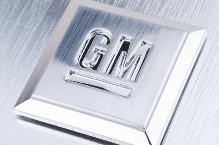 GM Emblem in Silver