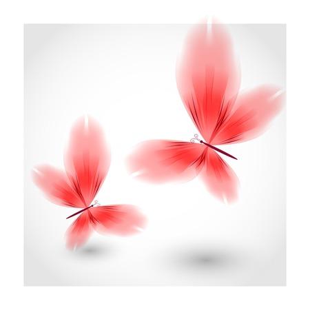 libbenő: Red pillangók libbenő levegő