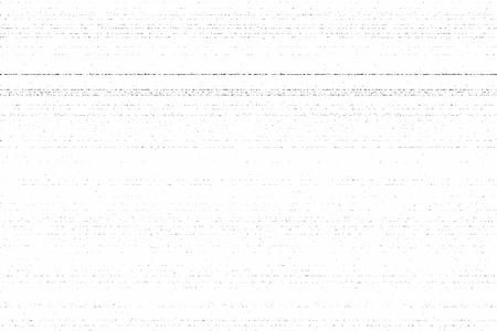 Grunge dirty photocopy texture. Vector illustration, horizontal stripes Stock Illustratie