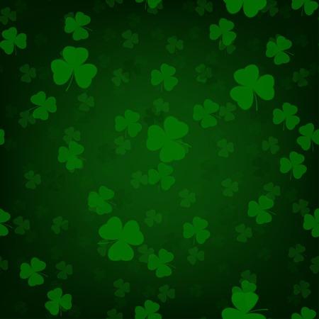 St.Patrick's Day seamless pattern Illustration