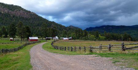 Farm located outside of Breckenridge, Colorado photo