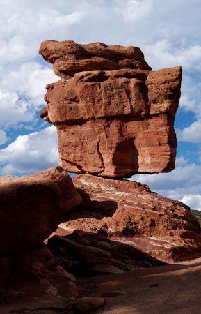 resortes: Hermoso rojo rocas en Jard�n de los Dioses en Colorado Springs, Colorado