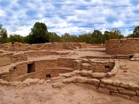 Ruins of Far View House in Mesa Verde National Park, Colorado. photo