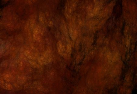 marbled: Grunge marbled fractal pattern in rust, black, gold and browns.