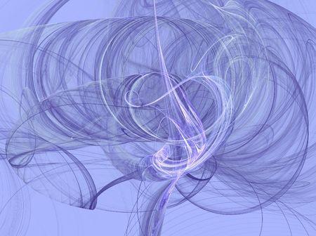 Lavender smoky fractal swirls on a Lavender background.
