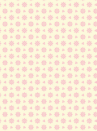eyelet:  swatch eyelet fabric wallpaper with easy to change pink colored background that matches Valentine borders. Illustration