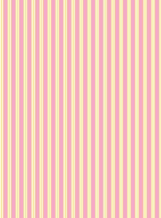スウォッチ ストライプ生地の壁紙、ピンク、ゴールド、エクリュ バレンタイン ボーダーと一致します。