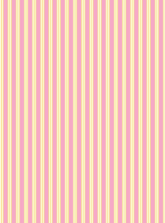 swatch striped fabric wallpaper in pink, gold and ecru that matches Valentine borders. Vector