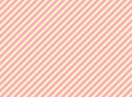 diagonal swatch striped fabric wallpaper in pink, gold and ecru that matches Valentine borders.