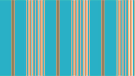 Blue and tan striped continuous seamless fabric or wallpaper background.
