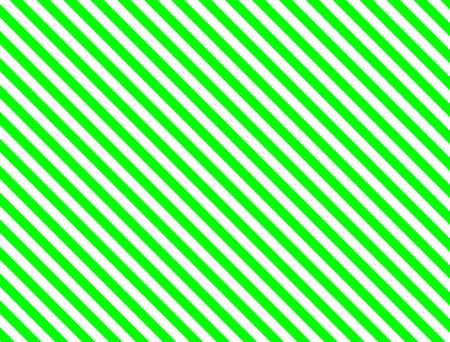 緑と白のシームレスな連続的な斜めの縞模様の背景。