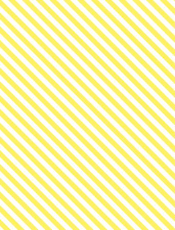 黄色と白のシームレスな連続的な斜めの縞模様の背景。