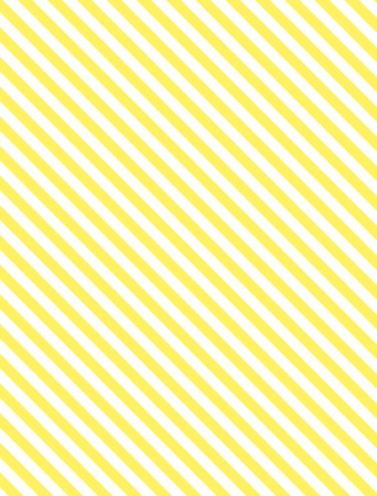 Seamless, continuous, diagonal striped background in yellow and white.