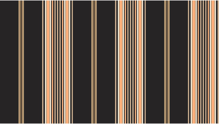 Black and tan striped continuous seamless fabric or wallpaper background. Stock Vector - 7347122