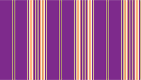 Purple and tan striped continuous seamless fabric or wallpaper background. Vector