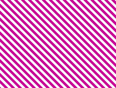 ピンクと白のシームレスな連続的な斜めの縞模様の背景。