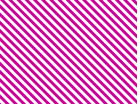 Seamless, continuous, diagonal striped background in pink and white. Stock Vector - 7347130