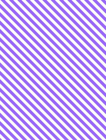紫と白のシームレスな連続的な斜めの縞模様の背景。  イラスト・ベクター素材