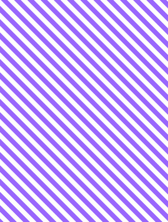 Seamless, continuous, diagonal striped background in purple and white.