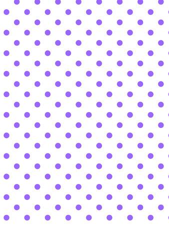 白の背景に紫の水玉 (eps8)  イラスト・ベクター素材