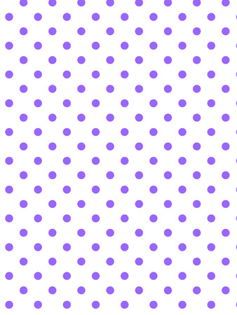 White background with purple polka dots (eps8)