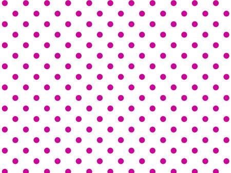 白の背景にピンクの水玉 (eps8)  イラスト・ベクター素材
