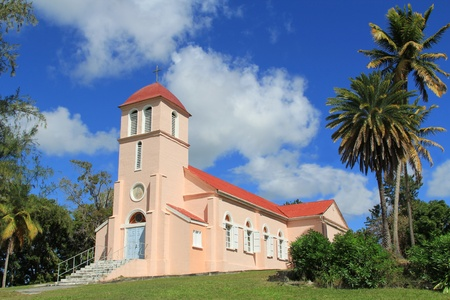 antigua: Our Lady of Perpetual Help Church in Tyrells Parish in Antigua Barbuda.
