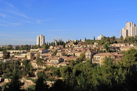 jewish home: The Yemin Moshe neighborhood is the first neighborhood that was constructed outside the Old City walls of Jerusalem. Includes the famous Montefiore windmill which is a well-known landmark,