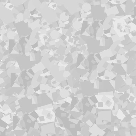 Vector abstract background. Background with mosaic effect. Grey scale abstract texture Ilustração