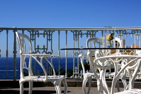 Terrace: romantic summer furniture photo