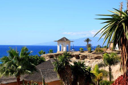 Romantic resort  photo