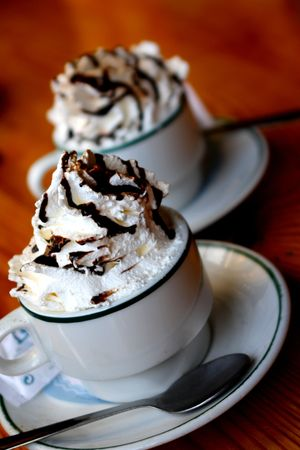 coffee with wipped cream Stock Photo - 6746658