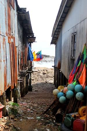 gypsy: sea gypsy village