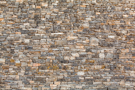stone wall texture: Natural stone wall texture for background