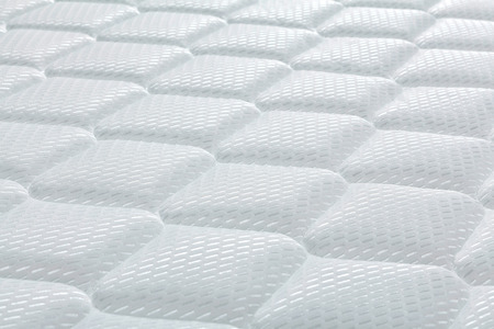 Brand new clean mattress cover surface 写真素材