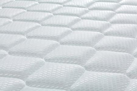 mattress: Brand new clean mattress cover surface Stock Photo
