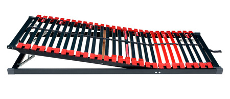 bed frame: Bed slats for latoflex - Bed frame and mattress base surface with path