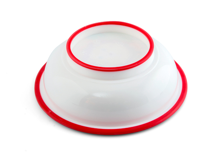 babby: Babby bowl upside down with silicone circle isolated on white include path