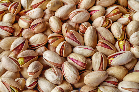 Pistachios background nuts